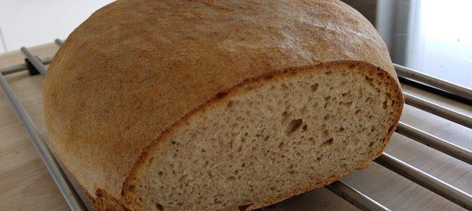 Fotonávod na kváskový špaldovo-ražný chlieb